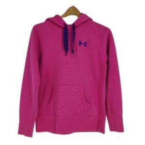 Under Amour Storm Fleece Hoodie Pink Purple